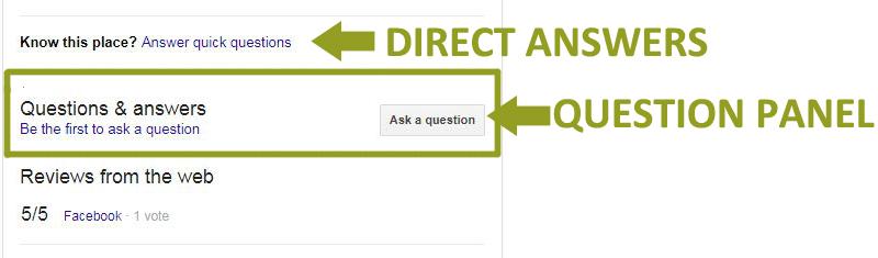 Google Business Reviews: Q&A Tool