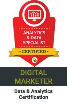 Nem Digital Marketing Strategist Data Analytics Certificate