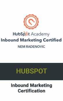 Nem Digital Marketing Strategist HubSpot Inbound Certificate