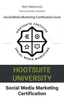 Nem Digital Marketing Strategist Social Media Certificate